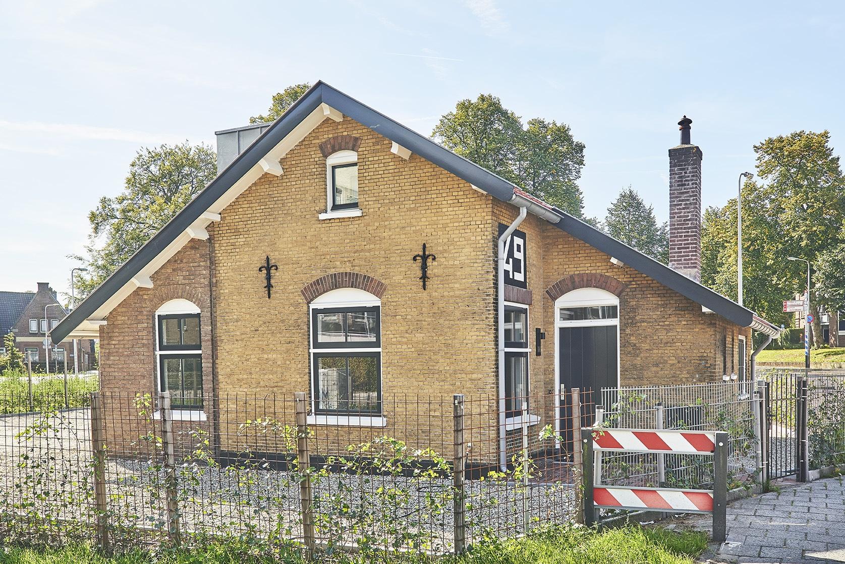 Kantoor van Anne Fem NVM Makelaardij aan de Leusderweg 26 in Amersfoort.
